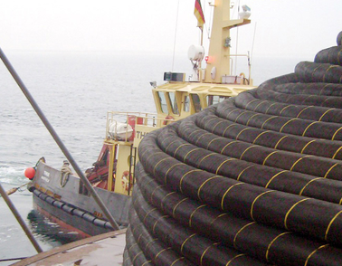 HV Offshore Baltic project cable storage