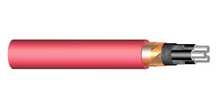 Image of PEX-M-AL 3-core medium voltage cable